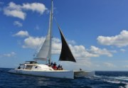 bali activities waka-catamaran-cruise