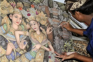 Batuan Painting art
