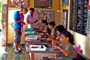 Kintamani Bali Tour Celuk Gold Silver art